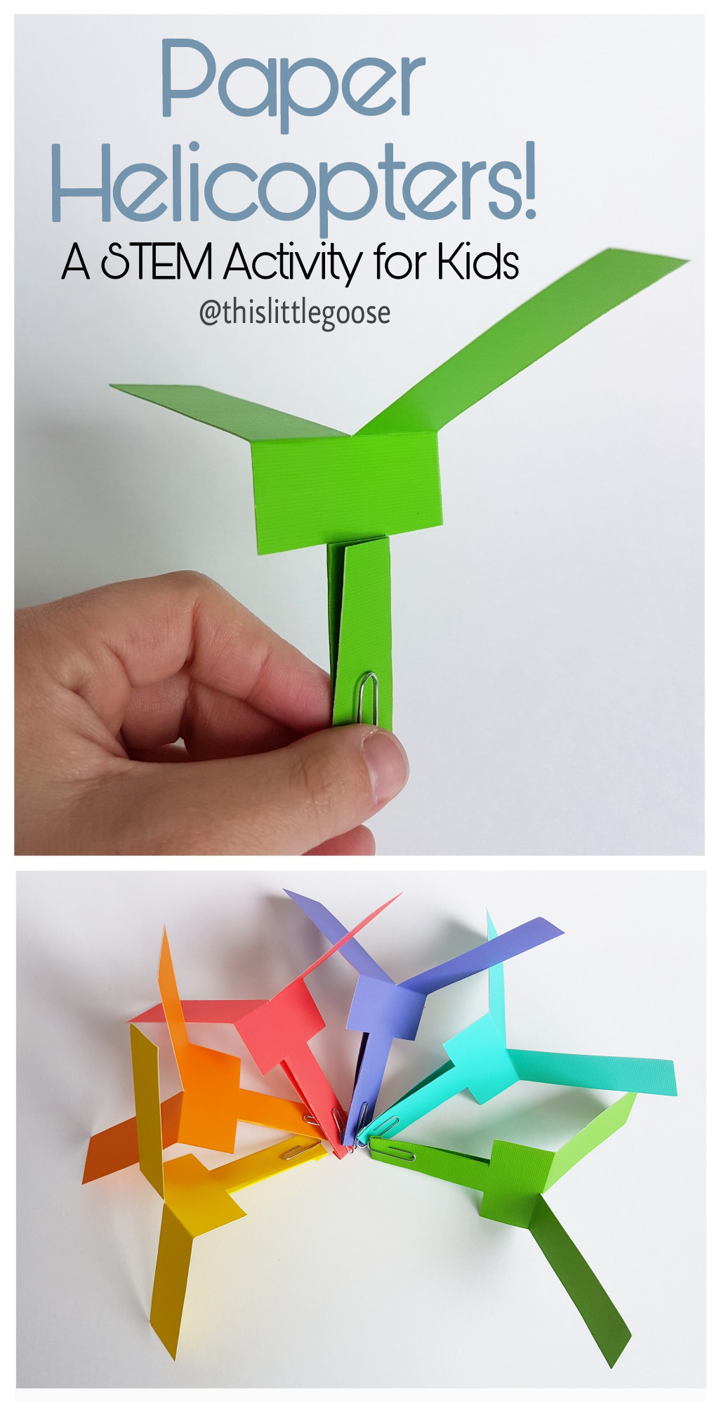How to Make a Paper Helicopter - Easy Origami Helicopter | Type 1 ... | 1995x1024